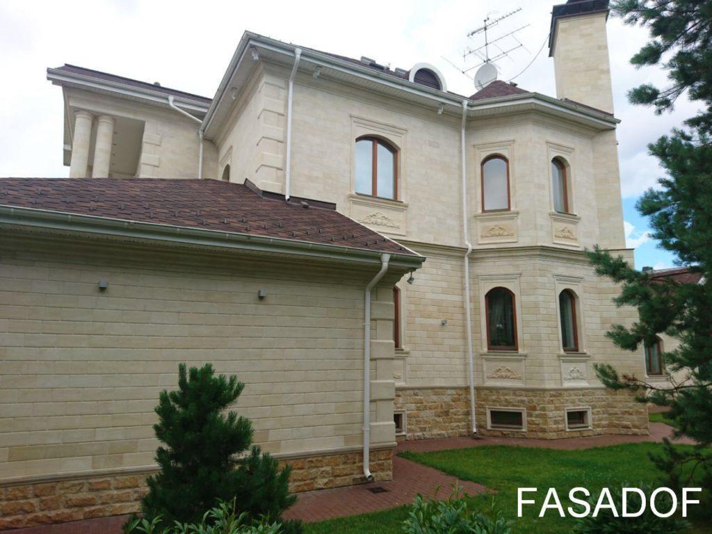 дагестанский камень облицовка фасадов цена