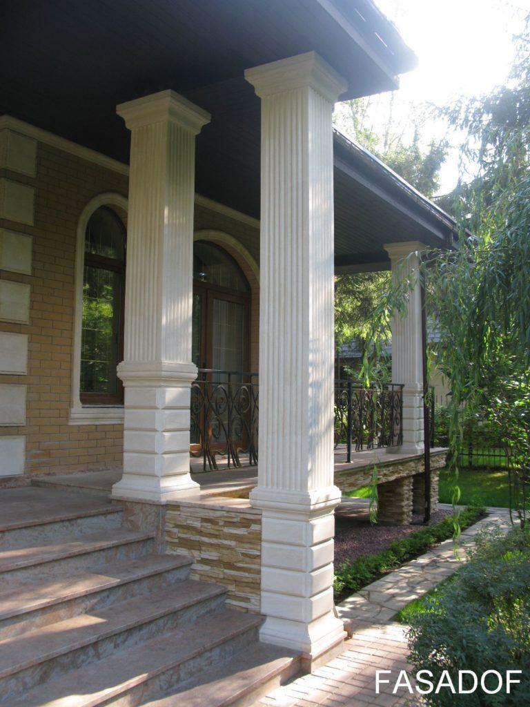 виды отделки фасада дома