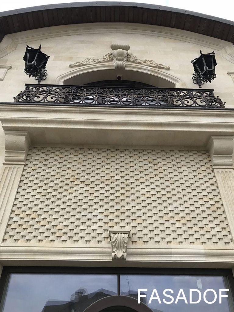 внешняя отделка фасада