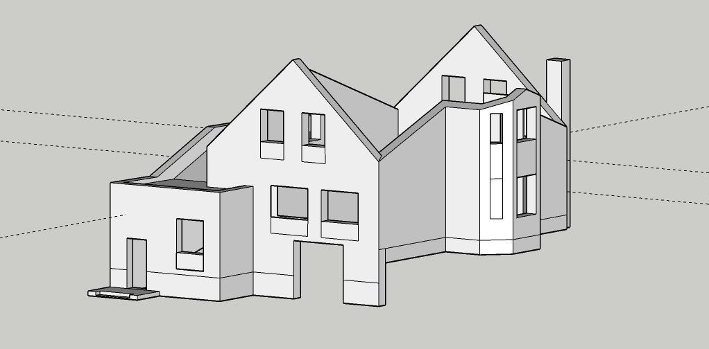 Проектирование и дизайн фасада